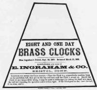 Clock Repair & Replacement Parts - Manufacturers Labels - BEDCO-29 - E. Ingraham Clock Company Label