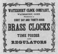 Clock Repair & Replacement Parts - Manufacturers Labels - BEDCO-29 - Waterbury Clock Company Label