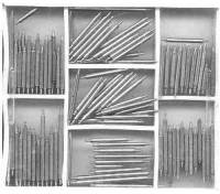 Watch & Jewelry Parts & Tools - Parts - CAMBR-51 - Stainless Spring Bar  100-Piece Assortment
