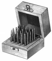 General Purpose Tools, Equipment & Related Supplies - Punches, Stakes, Anvils - CAMBR-74 - Staking  25-Piece Punch Set