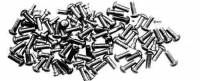 Fasteners - Rivets - CAMBR-93 - Brass Rivet 100-Piece Assortment
