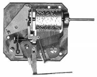 Mechanical Movements & Related Components - Music Movements & Governors - CUENDET-21 - 22-Tooth 2-Tune Cuckoo Music Movement