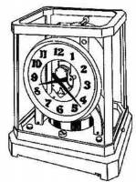 Clock Repair & Replacement Parts - Atmos - HALLER-35 - Atmos Suspension Spring Material