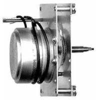 "Electric Movements and Parts - Synchron (Hansen) Electric Movements - HANSEN-21 - Synchron 1-3/8"" Bottom Set Type C Motor"