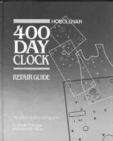Books - 400-Day (Anniversary) Clock Repair Guides - HORO-87 - 400-Day Clock Repair Guide By Charles Terwilliger