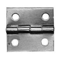 """Case Parts - Hinges - LUDWIG-11 - Door Hinge 1"""" W x 1"""" H - Brass"""