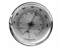 "Clocks, Watches, Timers, Weather Instruments - Weather Instruments & Parts - PRIMEX-89 - 2-3/4"" Thermometer"