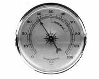 "Clocks, Watches, Timers, Weather Instruments - Weather Instruments & Parts - PRIMEX-89 - 2-3/4"" Hygrometer"