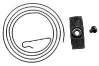 "Clock Repair & Replacement Parts - Bells,Gongs,Chime Rods,Hammers & Related - SCHWAB-16 - 2-3/8"" (60mm) Cuckoo Gong & Bracket"