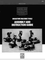 Lathes, Mills, Parts & Related - Lathe & Mill Accessories - SHER-41 - Sherline Instruction Guide(#5326)