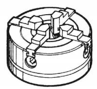 SHER-41 - 4-Jaw Chuck (#1044)