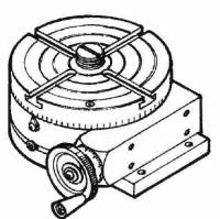 SHER-41 - 4 Inch Rotary Table