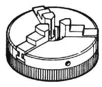 SHER-41 - 3-Jaw Chuck (#1041)