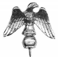 "Case Parts - Eagles - TT-11 - 2"" Cast Eagle - Facing Right"
