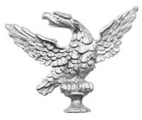 "Clock Repair & Replacement Parts - Case Parts - TT-11 - 2-1/2"" Cast Willard Style Eagle"