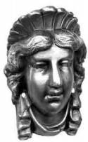 Case Parts - Heads & Plaques - TT-11 - Decorative Head-Ansonia Capitol