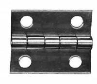 "Case Parts - Hinges - TT-11 - Door Hinge  1""H x 3/4"" W - Brass"