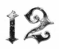 TT-12 - Ansonia Swinging Arm Cast Arabic Numeral Set