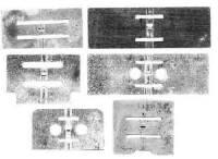 Wheels & Wheel Blanks, Motion Works, Fans & Relate - Lantern Pinion Assemblies, Fans & Components - TT-2 - Brass Fan Assortment-6 Pieces