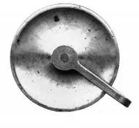 """Clock Repair & Replacement Parts - Weight Pulleys, Pulley Covers, S-Hooks, etc. - TT-24 - Banjo1-5/16"""" Pulley"""