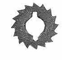 Wheels & Wheel Blanks, Motion Works, Fans & Relate - Ratchet Wheels & Intermediate Wheels - TT-32 - Ratchet Wheel  16 Teeth
