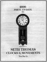 Books - Clocks-Price & Identification Guides - Timesaver - Seth Thomas 2005 Price Update By Tran Duy Ly
