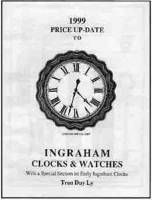 Books - Clocks-Price & Identification Guides - Timesaver - Ingraham 1999 Price Update By Tran Duy Ly