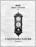 Books - Clocks-Price & Identification Guides - Timesaver - Calendar Clock 2000 Price Update