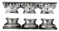 "Case Parts - Columns & Column Holders - Timesaver - Triple 11/16"" Column Base Top & Bottom"