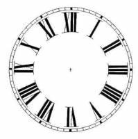 "Dials & Related - Porc-A-Dials - Timesaver - 6-7/8"" Roman Porc-A-Dial"