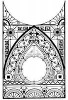 Glass For Bezels and Doors - Kitchen Clock Glass - Timesaver - Ansonia KG-78 Kitchen Clock Glass