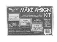 Display Items - Signs & Posters - Timesaver - Sign Kit