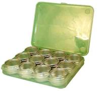 Shop Supplies - Storage Boxes & Trays - Timesaver - Plastic Box With 12 Containers