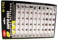 Batteries and Related - Watch Battery 42-Piece Assortment