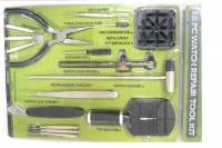 Watch & Jewelry Parts & Tools - Tool(s) - 16-Piece Watch Repair Kit