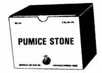 Polishes - Pumice & Rotten Stone - Pumice Stone  1 Pound
