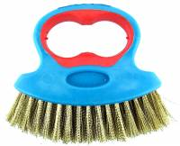 General Purpose Tools, Equipment & Related Supplies - Brushes - Cleaning Brush - Brass Plated Steel Bristles