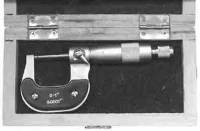 """Measuring Devices, Levels & Screw Gauges - Micrometers - SONA-71 - 1"""" Micrometer"""