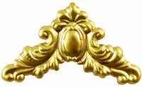 "Case Parts - Corners - 1-3/4"" Decorative Brass Corner"