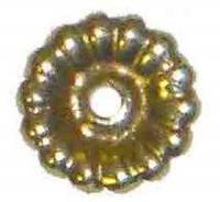 "Case Parts - Decorative Appliques - Brass Rosette - 1/2"" Diameter"