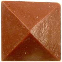 """Case Parts - Decorative Appliques - Resin Square Case Applique 7/8"""" Domed"""