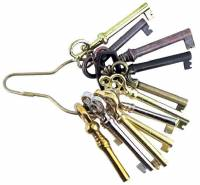 Case Parts - Doors & Parts - 12-Pc. Door Lock Key Assortment