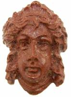"Case Parts - Heads & Plaques - 2-1/4"" Resin Greek Head Case Ornament"