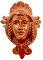 Case Parts - Heads & Plaques - Resin Regal Head Case Applique