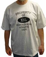 Novelty Items - Horological T-Shirt   Size Extra Large