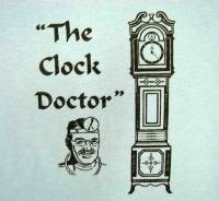 Novelty Items - T-Shirts, Scarves - The Clock Doctor T-Shirt   Size Large