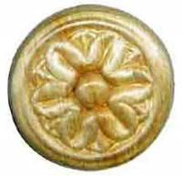 "Case Parts - Decorative Appliques - Pressed Wood Ornament - 1"""