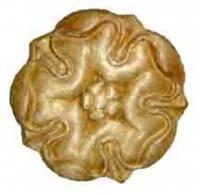 "Case Parts - Decorative Appliques - Pressed Wood Ornament - 1-1/4"""