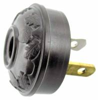 Movements, Motors, Rotors & Related - Electric Movements and Parts - Acorn & Leaf Antique Style Plug