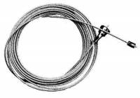 """Weight Cord & Rope, Wire Cable & Guards, & Gut - Clock Cable, Cable Fittings & Cable Guards - Hermle Style Cable 1.0mm x 76.5"""" Long"""